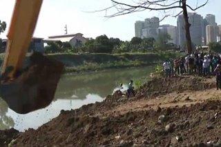 Mga 'illegally reclaimed' area sa Marikina River iimbestigahan