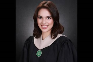 Michelle Vito recalls juggling her studies and work as she finishes college