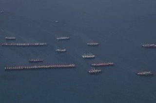Satellite images belie China claims over ships anchored at Philippine reef