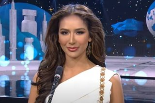 Samantha Bernardo promises to be 'channel of hope' in Miss Grand International speech