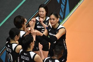 PH volleyball federation hails Jaja Santiago's latest feat with Ageo Medics