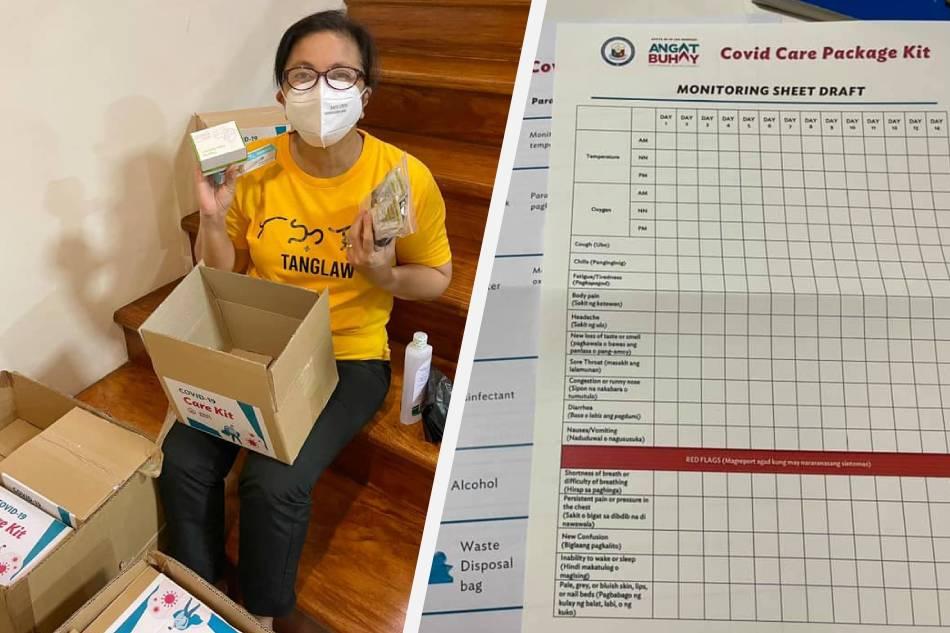 Robredo sends COVID-19 care kits to 'e-Konsulta' patients isolating at home