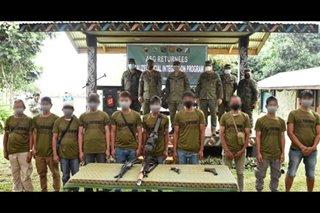 10 Abu Sayyaf members surrender in Sulu - military