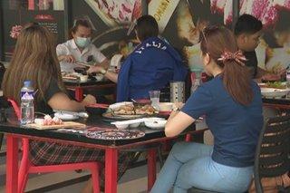 Outdoor dining sa mga restoran sa MECQ areas puwede na uli
