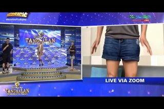 'Semi-formal?': 'Tawag ng Tanghalan' hurados, nabuking na naka-shorts lamang sa show