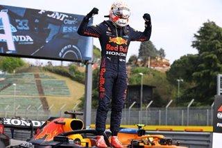 F1: Verstappen wins chaotic Imola classic as Hamilton rues rare mistake