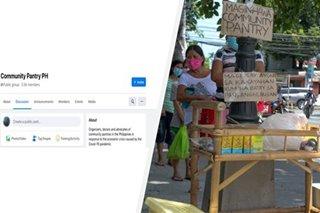 Modern bayanihan: Kaniya-kaniyang community pantry nagsulputan sa bansa