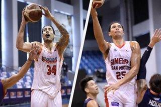 PBA: Japeth Aguilar excited to share court with Christian Standhardinger in Ginebra