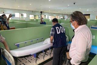Ward in Eva Macapagal Super Terminal converted into COVID-19 isolation facility