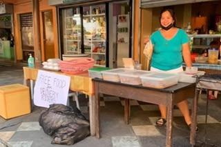 Libreng merienda para sa mga delivery rider, alok ng eatery sa Las Piñas