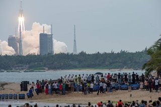Chinese rocket segment disintegrates over Indian Ocean
