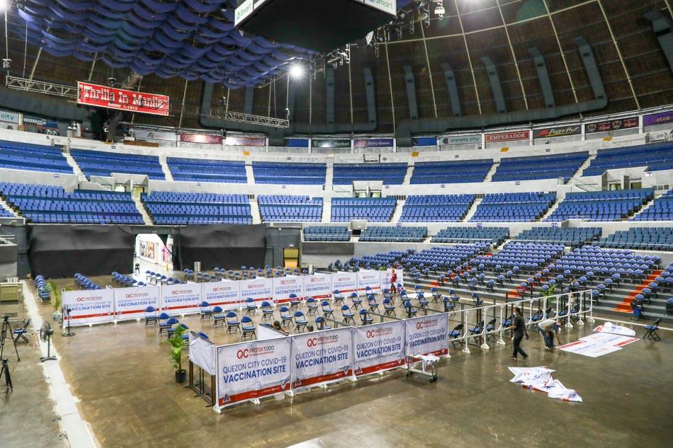 Smart Araneta Coliseum set to serve as QC mega vaccination site