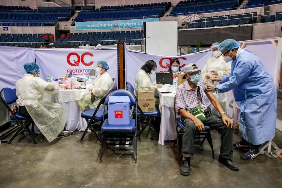 New COVID-19 mega vaccine facility opens in Quezon City