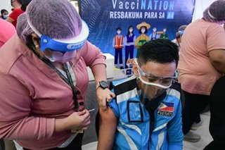 Duterte tells Pinoys: Go back for 2nd COVID-19 vaccine dose