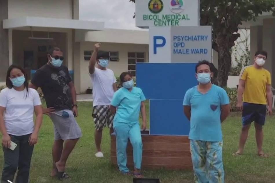Total lockdown sa CamSur mental hospital tatanggalin na