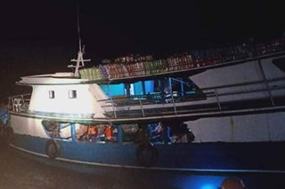 19 rescued from distressed boat off Sulu