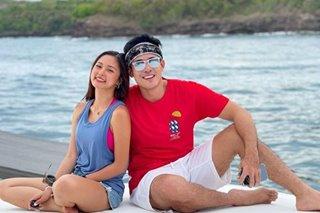 WATCH: Xian Lim, Kim Chiu go on quick beach getaway with friends