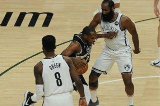 NBA: Khris Middleton, Bucks push Nets to Game 7