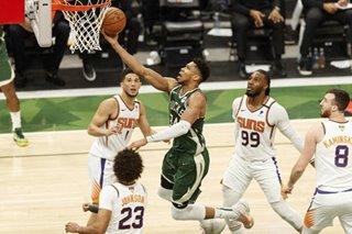 Giannis joins Jordan, Shaq, LeBron in NBA Finals history