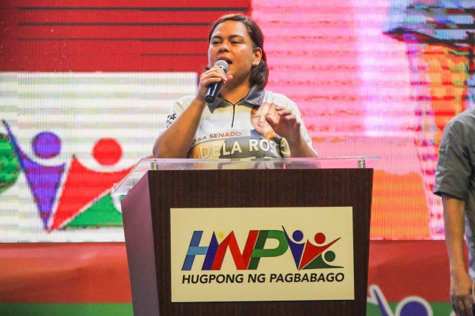 Sara Duterte defends trips amid continuing COVID-19 threat in Davao City 1