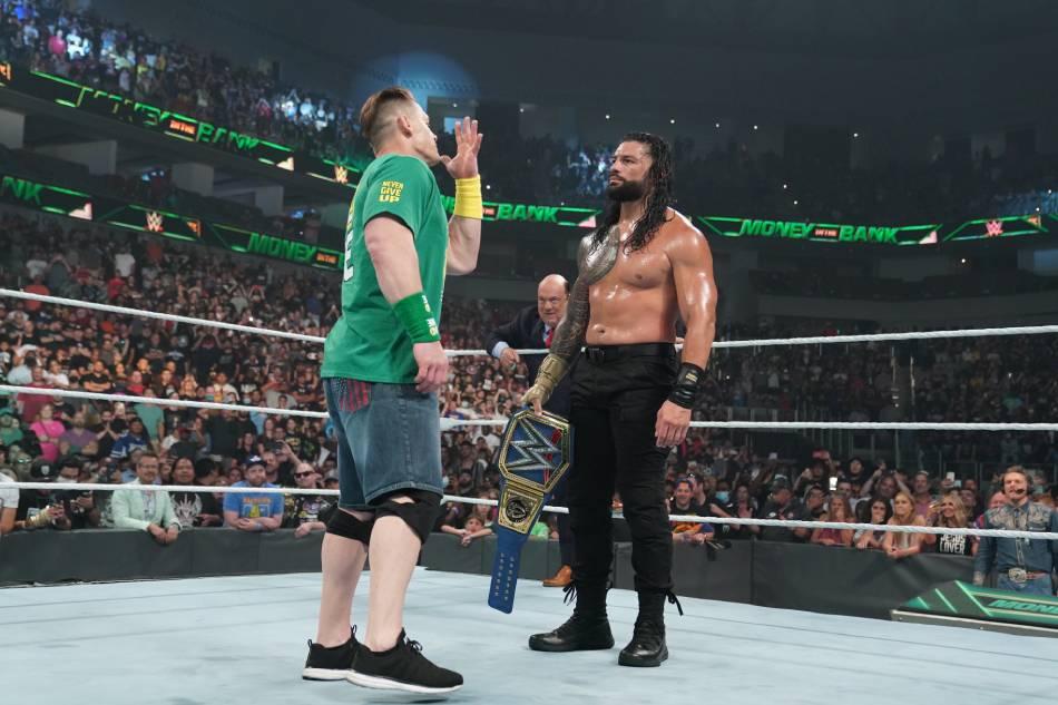 Wrestling: John Cena's shock return highlights WWE's Money In The Bank PPV 1