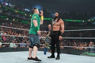 Wrestling: John Cena's shock return highlights WWE's Money In The Bank PPV