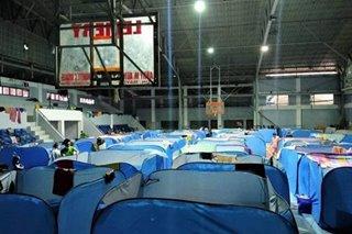 Mga evacuee sa Lemery, Batangas umapela ng tulong