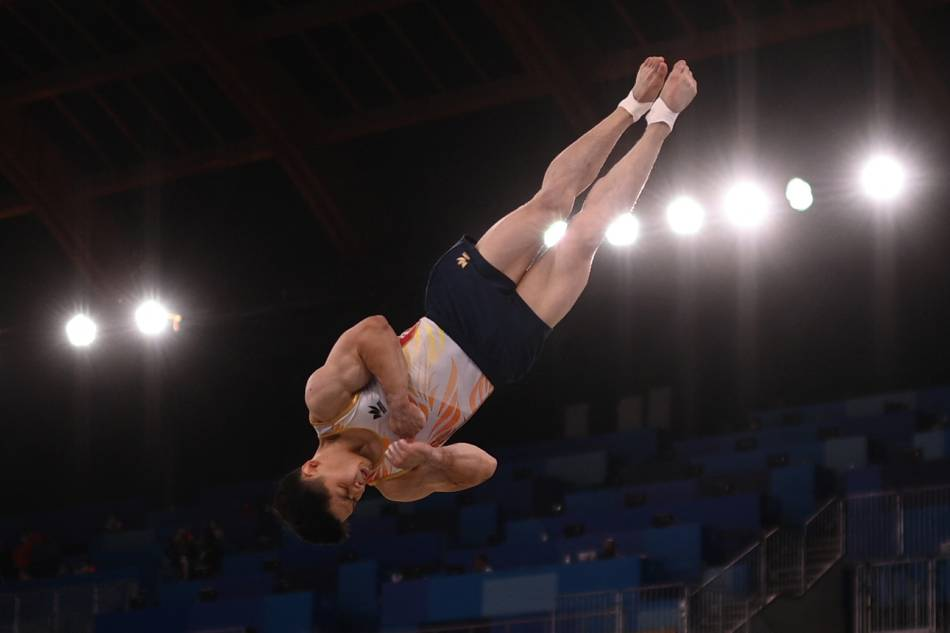 Carlos Yulo lands 4th in vault finals to narrowly miss Olympic podium 1