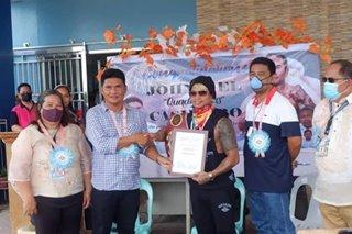 Casimero hinandugan ng hero's welcome sa Leyte