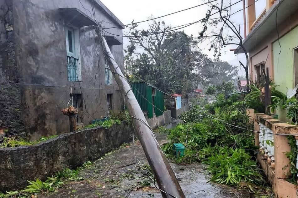 Trees, utility posts toppled, as Kiko batters Batanes 5