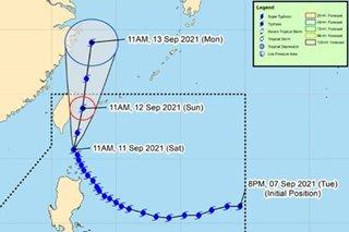 Kiko weakens further, as typhoon moves over Batanes