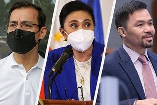 In talks with Pacquiao, Isko? Leni says ready to face Marcos anew in 2022