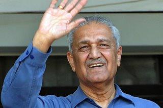 'Father of Pakistan's bomb' A.Q. Khan dies at 85
