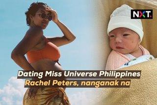 Dating Miss Universe Philippines, nanganak na