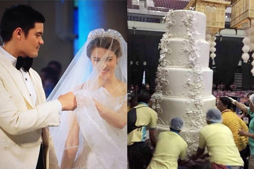 marian rivera and dingdong dantes wedding cake why marian dingdong wedding cake made us headlines abs 17126