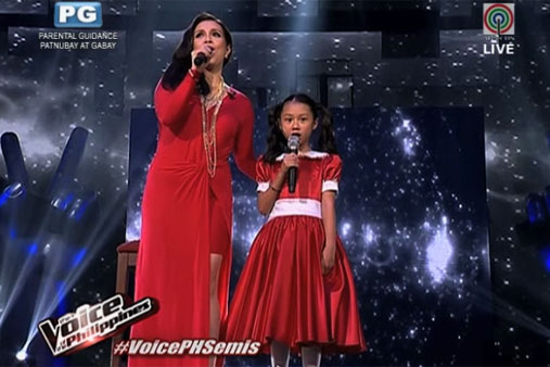 Watch Lea Daughter In Throwback Duet Abs Cbn News