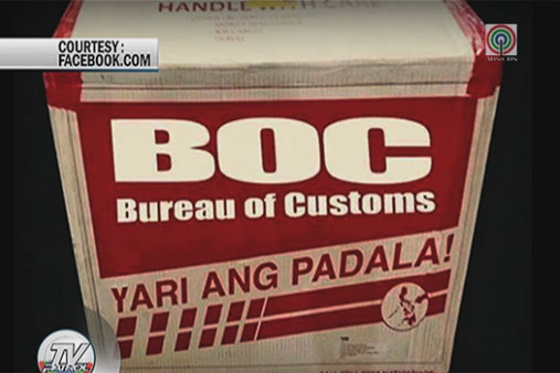 Viral galit ng ofws sa bureau of customs abs cbn news for Bureau tagalog