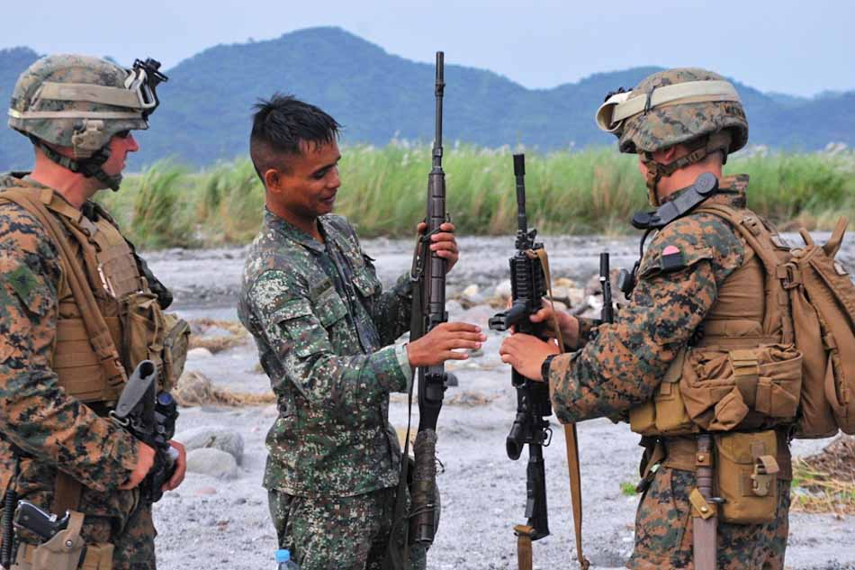 Image result for PH US TROOPS MILITARY EXERCISES