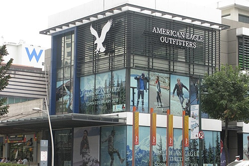 the first american eagle outfitters store More from american eagle outfitters products don't ask why slouchy turtleneck sweater american eagle outfitters  sign-in or sign-up to follow this store.