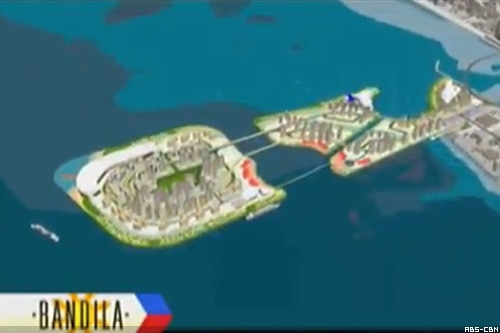 Manila Solar City may rise in the middle of Manila Bay | ABS-CBN News