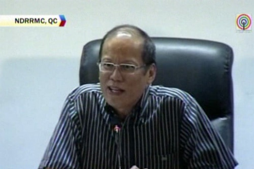 PNoy walks out of disaster meeting out of frustration