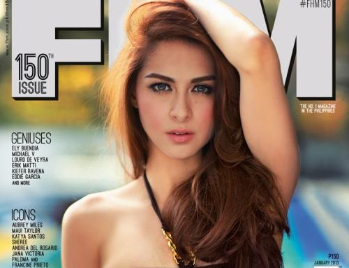 Mine the Marian rivera fhm cover was mistake