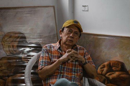 Meet Fernando Sena, the man who taught Borlongan how to paint