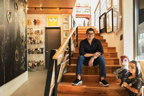 ANCXclusive: Inside Julius Babao's Casa Uccello, the news anchor's art-filled home
