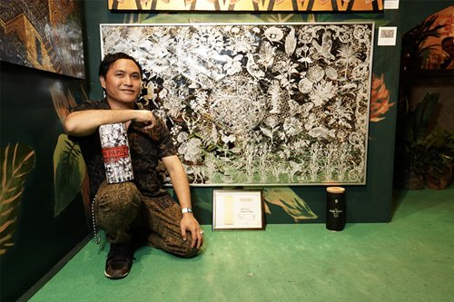 Sam Penaso's intricate depiction of Sugarlandia wins Don Papa's vote