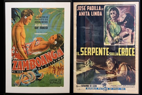 These vintage Italian posters prove Pinoy films were being screened in Europe as early as the '60s