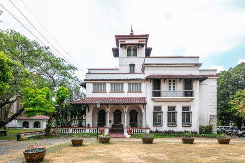 This fabled Cubao mansion is 90 — but it looks like it's only 20
