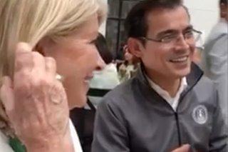 That's entertainment: When Mayor Isko sang a Yoyoy song to Martha Stewart