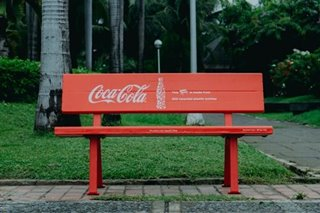 Coca-cola aims to collect and recycle 100% of every plastic bottle and aluminum can it sells