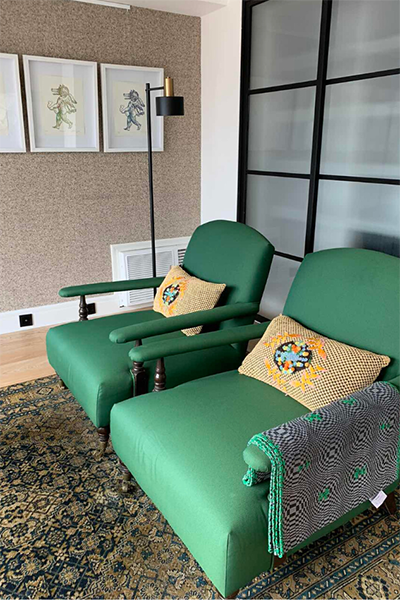 In this penthouse apartment designed by Ricco and Tina Ocampo, everything is for sale 12